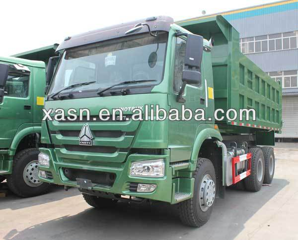 The new hot sales HOWO 2014 6x4 dump truck with competitive price