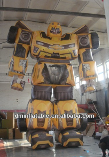 2014 new brand advertising 6m/H inflatable robot /inflatable deformation of the robot