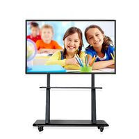 50 55 60 65 Inch Finger Touch Portable Interactive Whiteboard