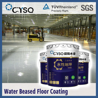 Water based epoxy floor paint for factory