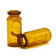 Wholesale eco-friendly small plastic vials clear amber vails customized 60 dram plastic vials