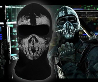 New The Grim Reaper Mask Skull Ghost Death Balaclava Airsoft Costume Headwear Motorcycle Paintball Halloween Full Face Mask