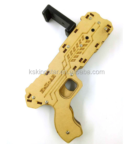Wooden Plastic Portable AR Gun Augmented Reality Game Gun