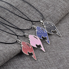 Fairy Tail logo pendant <strong>necklace</strong> 4 Color Cosplay Anime Alloy <strong>Necklace</strong> Charm Pendant