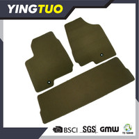 YT056 suv car floor mat 5pc special fit good quality carpet needle punched car floor mats