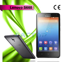 4.7inch IPS Capacitive 960*540Pixels QHD Touch Screen Original Phone Lenovo S660 Android4.2 3G WCDMA 900MHz