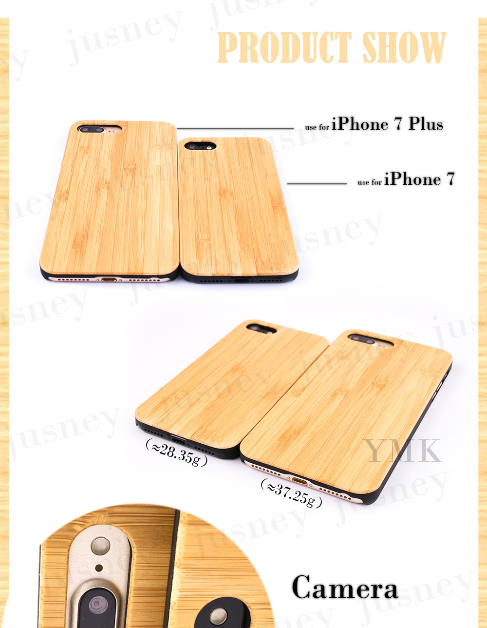 2017 Eco Friendly Wood For Iphone 7 Case Custom Wood For