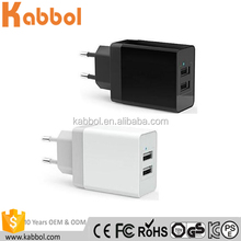 Charger for Phone Charger 3.4A Dual USB Port Wall Home Travel AC Charger Adapter For iPhone 7 5s iPad Mini iPad 4 iPod