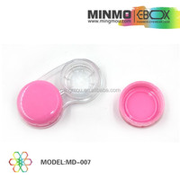 world best selling products double lens box,pink lens box, contact lens box