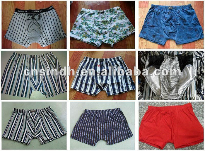 Hot Sell Comfortable Breathable Fancy Men's Underwear