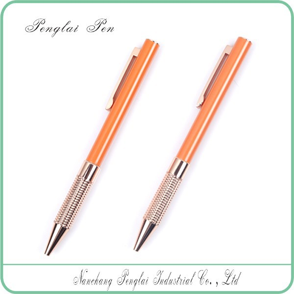 colorful classic business metal ball pen gift stainless steel metal ballpoint pen
