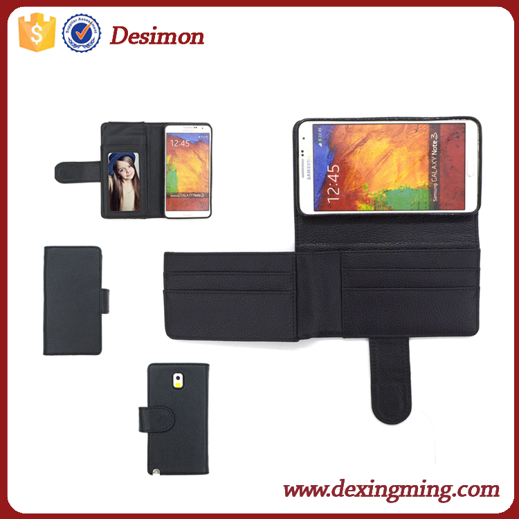 Desimon colorful cow leather case for samsung galaxy s5 mini, for galaxy s5 mini wallet case