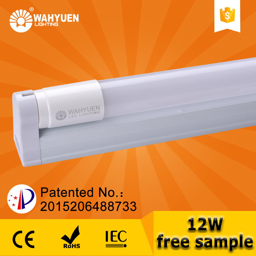OEM new 12w t8 led tube waterproof with ce rohs tuv