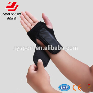 Adjustable wrist band neoprene wrist and thumb supports