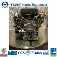 V-twin, 4-stroke, Air-cooled Horizontal and Vertical Shaft Twin Cylinder Diesel Engine for sale