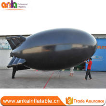 Factory price inflatable blimp shape toy for promotion