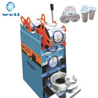 Plastic Cup Sealing Machine|Cup Sealer