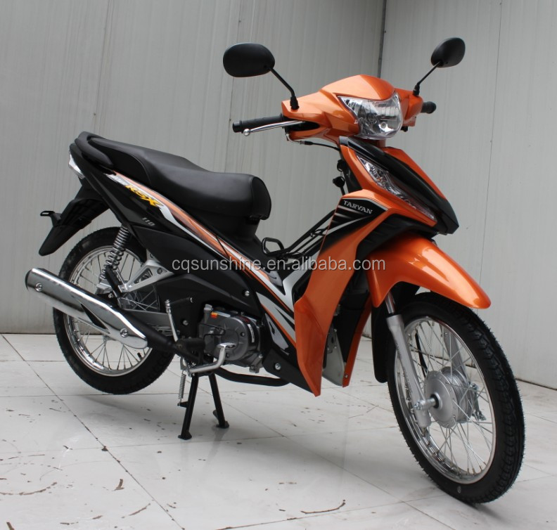Semi-automatic Clutch Air Coolded Engine Type Moped 50cc