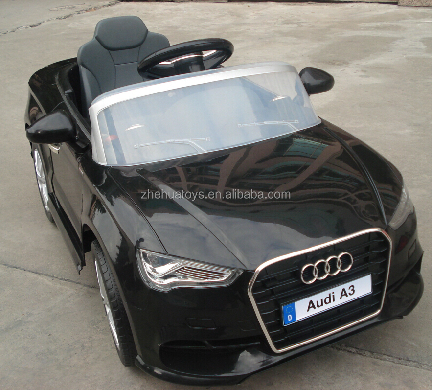 Best selling kids electric ride on car Audi A3 ride on car licensed 12V