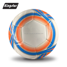 5# soft touch PU match football soccer ball