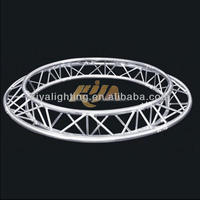 Guangzhou kiya high quality lighting stage truss lifting/curved aluminum truss/lighting tower truss