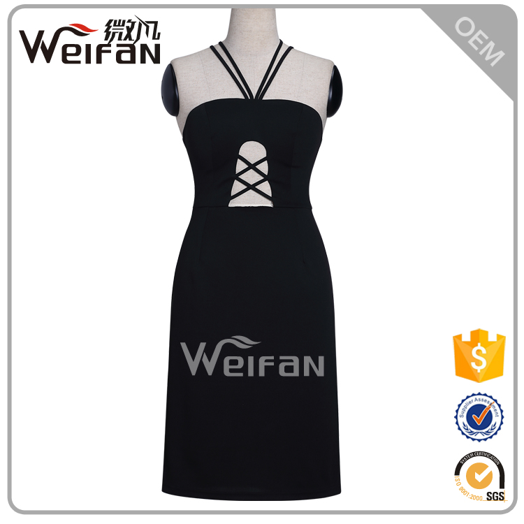 Female african print dress black chiffon dress