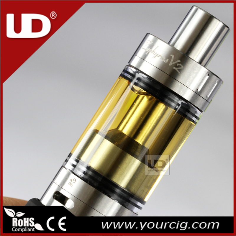 Youde Zephyrus rebuildable drip tank e-cigarette atomizer UD Zephyrus V2 vaporizer with factory Price