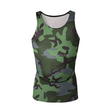 Sublimation running tops mens sports bra