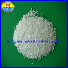 abrasisve raw materials Factory Price White Corundum Glass Manufacturing Raw Material
