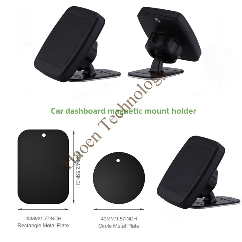 Magnetic Suction Mount Car Adhesive Dashboard Mount For iPhone 7/7 Plus