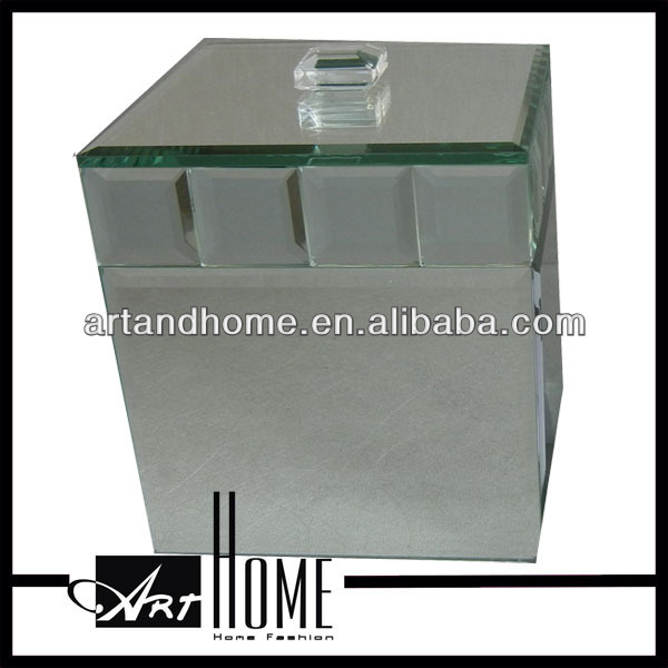 ceramics jewellery box,glass jewellery box 1003-005