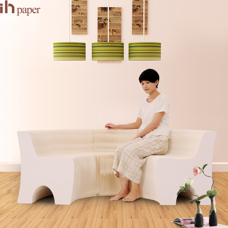 Ihpaper Brand White Home Mobilier W655312 Multiple Shape Softseating Natural Sofa