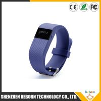 Free shipping Bluetooth 4.0 Smart Bracelet smart band Heart Rate Monitor Wristband Fitness Tracker for Android iOS USA