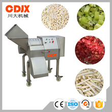 Widely use efficient best selling cube cutting machine for root vegetable