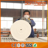 1260 Tthermal insulation refractory ceramic fiber products used for heating furnace