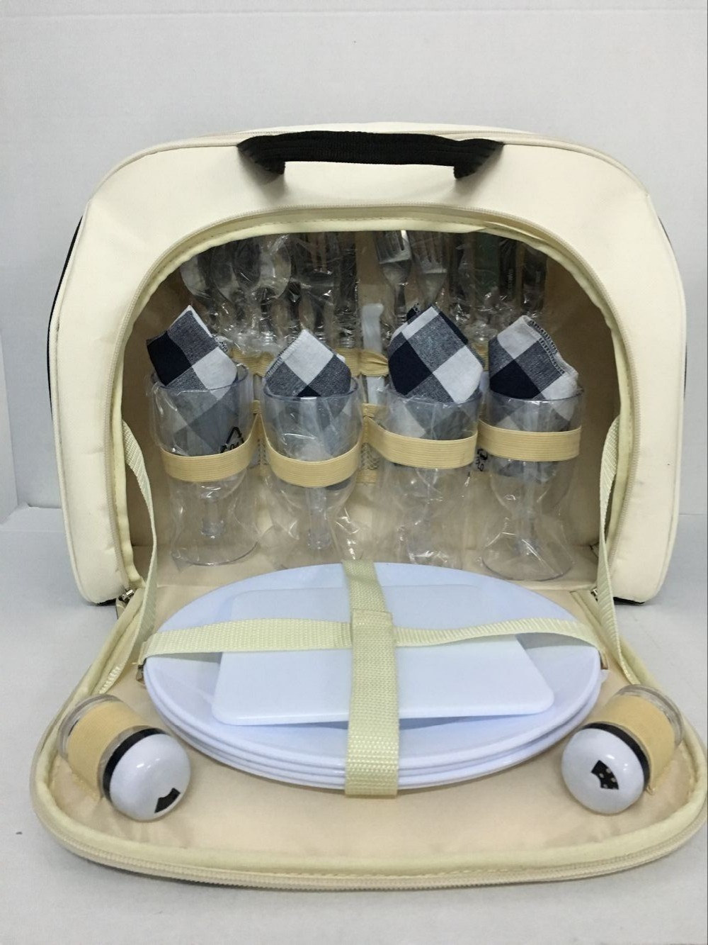 outdoor picnic lunch picnic bag for 4