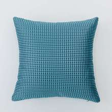 Soft blue decorative throw pillow sofa pillow insert case covers wholesale size 45 cm x 45 cm