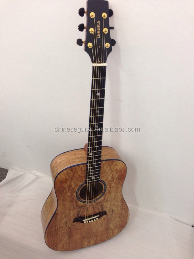 "41"" Acoustic Guitar with excellent performance UDFG-41718N"
