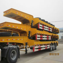 Best price low bed truck semi trailer dimension for sale