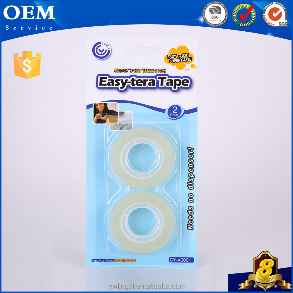 Chainstore Supermarket Supply Bopp Adhesive Office Stationary Tape