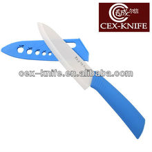 Cutlery chef ceramic knife with blade guard