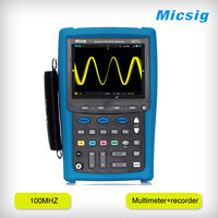 Micsig 5.7 inch touch screen serial bus trigger 100mhz digital handheld oscilloscope