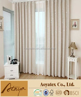 Fashion latest designs printed curtain with china Manufacturer