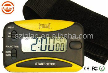 High quality small digital Boxing sport handle Timer With Alarm