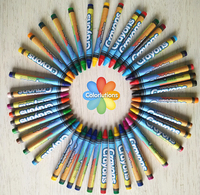 crayon drawing coloring