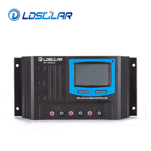 LDSOLAR 12V 24V 48V 10A 15A 20A 30A Solar Charger Controller Manual PWM Solar Charge Controller