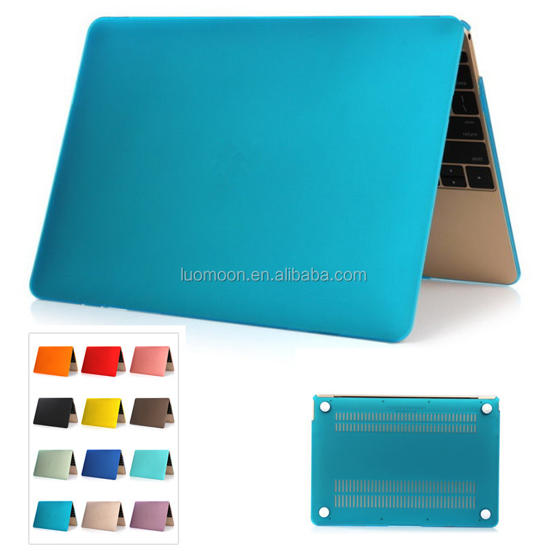 cheap frosted dull polish hard laptop shell case cover bag sleeve for apple macbook air pro retina 11 11.6 12 1313.3 15 15.4 17
