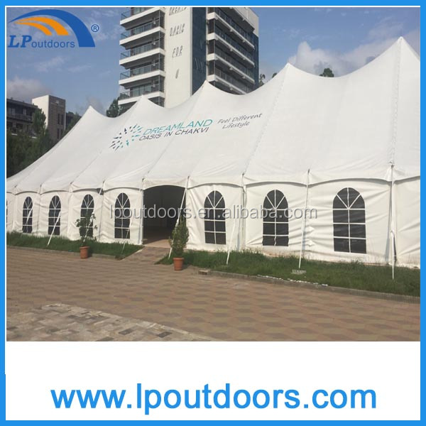 2016 Newest steel pole outdoor event tent for wedding