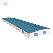Prefabricated Steel Structure Building Poultry Farm Fan