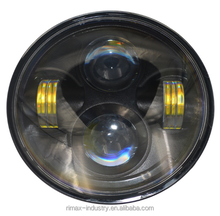 "BiLight Auto LED Light,JEEP Headlight Hi/Lo Beam 7"" without Ring"